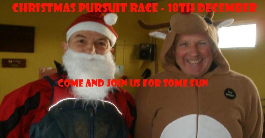 End Of Season Christmas Pursuit Race