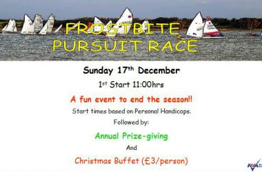 Frostbite Pursuit, Annual Presentation and Christmas Buffet!!