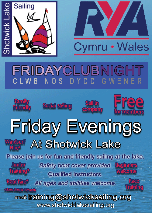 Friday Club Night at Shotwick Lake