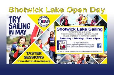 RYA PUSH THE BOAT OUT / OPEN DAY 12th MAY 2018