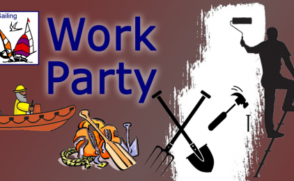 Work Party Sat 8th June