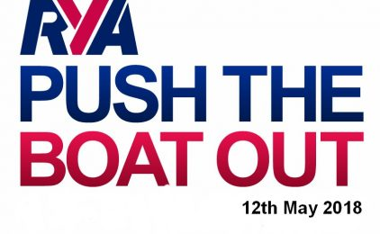 RYA PUSH THE BOAT OUT / OPEN DAY MAY 2018