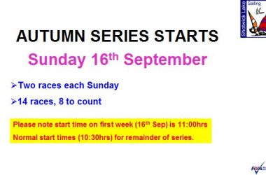 Autumn Handicap Series