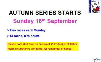 Autumn Handicap Series