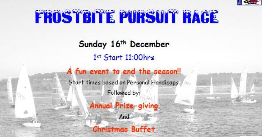 End of Season Pursuit, Prize-Giving and Christmas Buffet