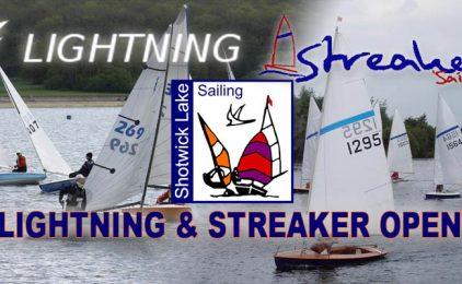 Lightning & Streaker Open Meeting