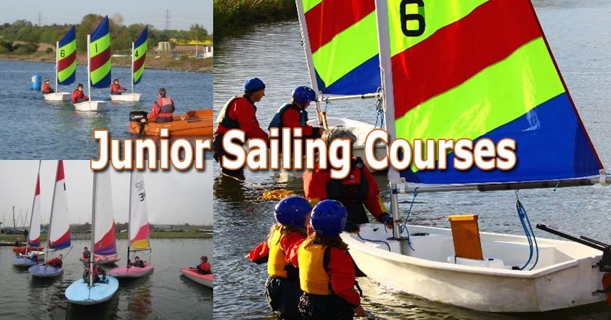 Junior sailing course – Places available!