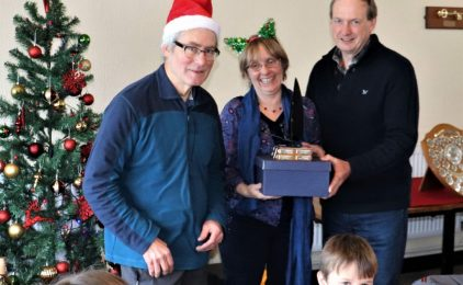 Fantastic festive buffet concludes another successful season