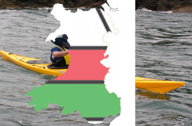 Kayaking Around Wales