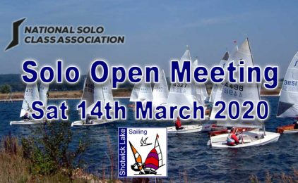 Solo Open Meeting 14th March 2020