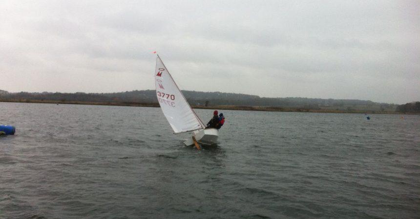 Sailors Brave 35knt Gusts, Sub Zero Temperatures & Sleet In Season Opener