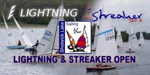 Lightning & Streaker Open Meeting @ Shotwick Lake Sailing