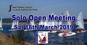 ** CANCELLED ** Solo Open Meeting 2019